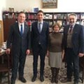Meeting with heads of Hanns Seidel Foundation Moscow office