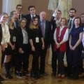 Opening ceremony of Model UN under the auspices of Lomonosov Moscow State University